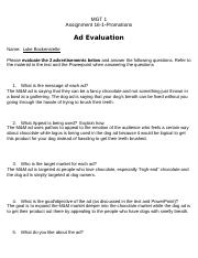 CTE 16 -1-Promotions Ad Evaluation