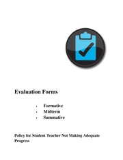 5. Evaluation Forms