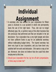(BEG) individual assignment