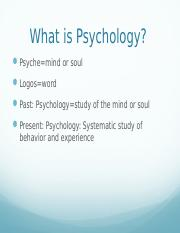 Chapter 1 - What is Pyschology.pptx