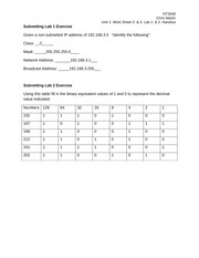 CRMartinnt2640Unit2WorkSheet3&4Lab1&2Handout