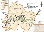 Taroko National Park map