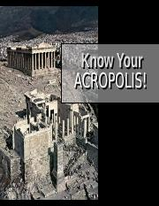 Know Your Acropolis.ppt
