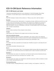 ICD-10-CM Quick Reference Info.docx