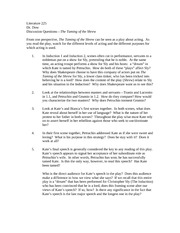 Literature 225_discussion questions_shrew_sp11_rev