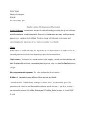 Detailed outline Vaccination.docx