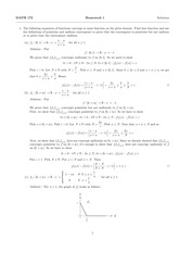 MATH 172 Spring 2014 Homework 1 Solutions