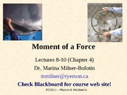 Chapter4- Moment of a Force~Couple