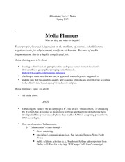 Advertising Test 3 Notes