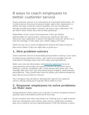 8 ways to coach employees to better customer service.docx