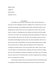 english 241- film analysis paper