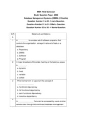 MI0025-DBMS-Model_question_paper