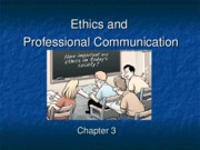 3-Ethics and Professional Communication-1