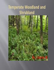 Woodland and shrubland