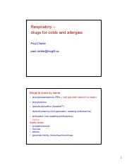 Lecture 10-PHAR 301 Respiratory colds allergies 2016 Clarke for MyCourses.pdf