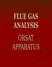 FLUE-GAS-ANALYSIS.ppt