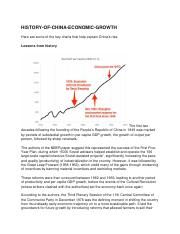 HISTORY OF CHINA ECONOMIC GROWTH.docx