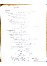 Math 2A Midterm 2 Cheat Sheet and review