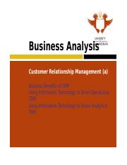 Learning Unit 13 Customer Relationship Management (Part a).ppt
