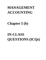 ICQs - Chapter 5 (b) Questions 3rd edition.docx
