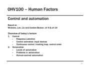 0HV100 L02 Control and Automation