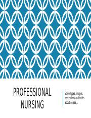 Professional Nursing ppt.-1