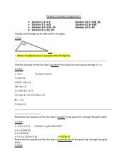 Assignment 3 Geometry  MGF1106.docx
