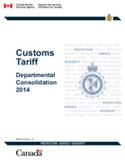 Customs TARIFF Department Consolidation 2014.pdf