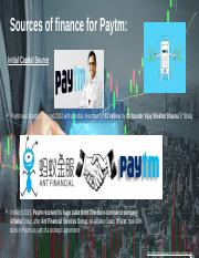 Sources of finance for paytm.pptx
