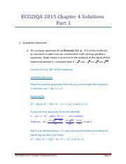 Chapter 4 answers Part 1
