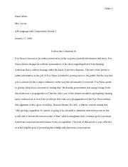 Article for AP Lang