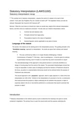laws admin law class material unsw page course 3 pages statutory interpretation