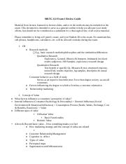 MKTG 122 Exam 1 Review Guide F16.docx
