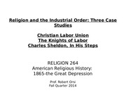 American Religioius History  10.21.14 Powerpoint for students
