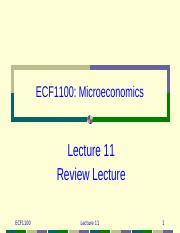 lecture11 Review
