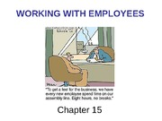 Working with Employees - Chapter 15