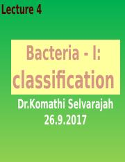 Bacteria cLASSIFICATION.pptx