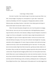 Personal Experience Essay 2