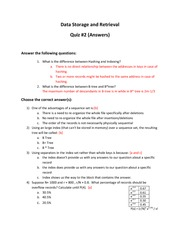 IS313_QUIZ 2 SOLUTION