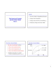 08 The Sources of Growth and the Solow Model, Part 2