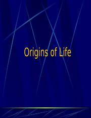 1Origins of Life.ppt