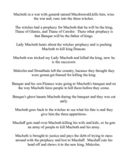 how much macbeths character changes during the course of the play essay A list of all the characters in macbeth the macbeth characters covered include: macbeth, lady macbeth, the three witches, banquo, king duncan, macduff, malcolm.