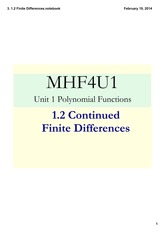 1.2_Finite_Differences