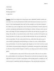 MGMT writing assignment 4