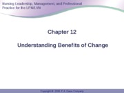Anderson Ch 12 Benefits of Change
