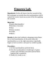 S'mores Lab.docx