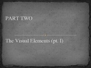 Lesson 04 - The Visual Elements.pt01