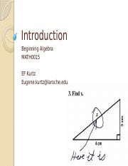CLASS I CH1 INTRODUCTION  math0015 R1.pptx