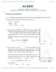 standard normal probability 2
