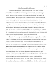 Religion to Christianility Essay